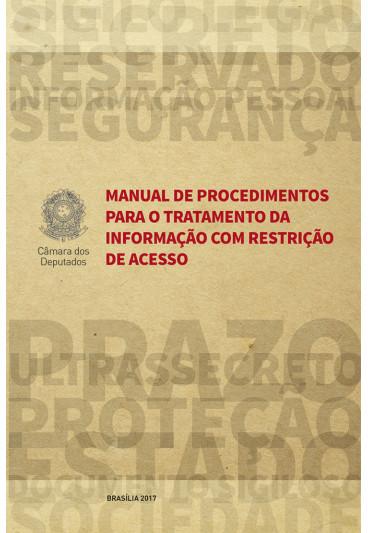 Manual de Procedimentos para o Tratamento da Informação com Restrição de Acesso