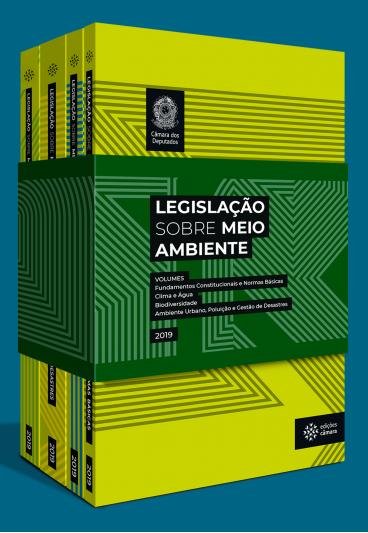 Legislação sobre Meio Ambiente (4 volumes)